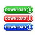 The download button