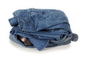 Workwear denim Royalty Free Stock Images