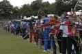 World archery championships in denmark copenhagen july sports life at championshiips july august copenhagen Stock Photos