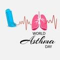 World Asthma Day.