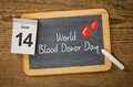 World blood donor day june Stock Images