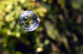 World in a bubble Royalty Free Stock Photo