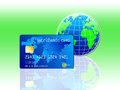 World Credit Card Royalty Free Stock Photo