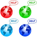 World crisis Royalty Free Stock Photo