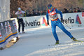 World Cup cross-country ski Stock Photography