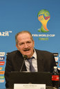 World cup rio de janeiro brazil july aldo rebelo sport minyster during press conference on the final balance of the at maracana Stock Photos