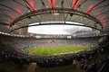 World cup rio de janeiro brazil july general view the stadium at the final game between argentina and germany at maracana stadium Royalty Free Stock Image