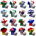 World Cup Soccer - South Africa 2010 Royalty Free Stock Image