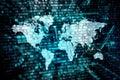 World data processing concept