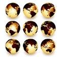 World (earth) Royalty Free Stock Photo