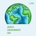 World Environment day concept