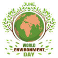 World Environment Day concept. June 5th