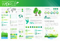 World Environmental Protection Green Energy Ecology Infographics Banner With Copy Space Royalty Free Stock Photo