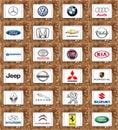 World famous car brands