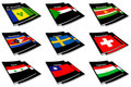World flag book collection 27 Royalty Free Stock Image