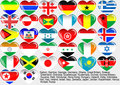 World_flag_EPS10 Royalty Free Stock Images