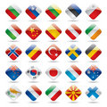 World flag icons 2 Stock Image