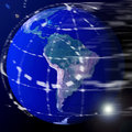 World globe earth Royalty Free Stock Photos