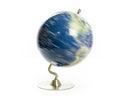 World globe spinning Royalty Free Stock Photo