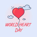 World heart day Royalty Free Stock Photo