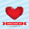 World heart day , Royalty Free Stock Photo
