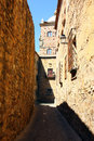 World heritage caceres at spain medieval city of Royalty Free Stock Photos