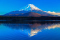 World heritage mount fuji and lake shoji ii Royalty Free Stock Images