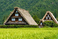 The world heritage Shirakawa-go. Royalty Free Stock Photos