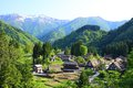 World heritage site Gokayama Royalty Free Stock Photo