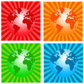 World icons Royalty Free Stock Images