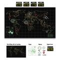 World map on Monitor Royalty Free Stock Photo