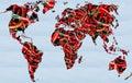 World map spice food