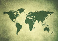 World map vintage Royalty Free Stock Photos