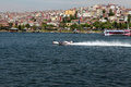 WORLD OFFSHORE CHAMPIONSHIP IN ISTANBUL. Royalty Free Stock Photos