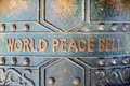 World Peace bell Royalty Free Stock Photo