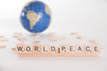 World Peace Concept Royalty Free Stock Photo