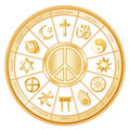 World Peace, Many Faiths Royalty Free Stock Photography