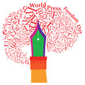 World Press Freedom Day Royalty Free Stock Photo