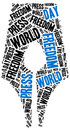 World press freedom day. Celebrated on 1st May. Royalty Free Stock Photo