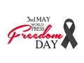 World Press Freedom Day.