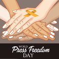 World Press Freedom Day. Royalty Free Stock Photo