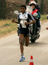 The World Recordman Marathon Haile Gebrselassie Royalty Free Stock Photo