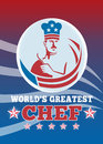 World's Greatest Chef Greeting Card Royalty Free Stock Photo