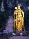 The world's tallest statue of Murugan, located outside Batu Caves Royalty Free Stock Photo
