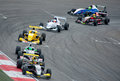 World series by renault moscow june formula race at in moscow raceway on june in moscow Stock Images