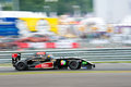 World series by renault moscow june oscar tunjo of josepf kaufmann racing team ger race at formula race at in moscow Royalty Free Stock Photo