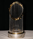 World Series Trophy. Royalty Free Stock Photo