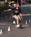 World Slalom Skateboarding Stock Photos