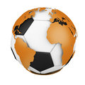 World Soccer Royalty Free Stock Photo