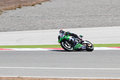 World supersport championship kenan sofuoglu drives kawasaki zx r of mahi racing team india in race in istanbul park on september Stock Photos
